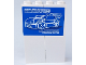 Part No: BA090pb01  Name: Stickered Assembly 4 x 1 x 5 with Blue and Black Car Posters Pattern on Both Sides (Stickers) - Set 8681 - 2 Brick 1 x 2 x 5