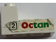 Part No: BA149pb02  Name: Stickered Assembly 3 x 2 x 1 1/3 with Octan and '2' in Black Square Pattern (Sticker) - Set 6562 - 1 Brick 1 x 2, 1 Tile 2 x 2, 1 Plate 2 x 3