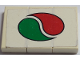 Part No: BA153pb01  Name: Stickered Assembly 3 x 2 with Octan Logo on White Background Pattern (Sticker) - Set 6562 - 3 Tile 1 x 2