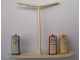 Part No: bb0070pb01  Name: HO Scale, Accessory Petrol Pumps with Center Light Post and Esso Pattern