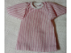 Part No: bb0245pb02b  Name: Duplo Doll Cloth Nightdress with Pink Stripes Pattern, no Trim