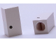 Part No: bb0695pb10  Name: Tile, Modified 1 x 2 x 5/6 with Stud Hole in End and Black '.' Period Pattern