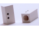 Part No: bb0695pb14  Name: Tile, Modified 1 x 2 x 5/6 with Stud Hole in End and Black ':' Colon Pattern