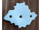 Part No: bb0947  Name: Foam, Scala Bush with 3 Holes #3148