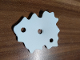 Part No: bb1088  Name: Foam, Scala Bush 6 x 6 with 3 Holes #3148