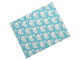 Part No: blankie03pb09  Name: Duplo Cloth Blanket 5 x 6 with Whales on Medium Azure Background Pattern