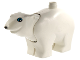 Part No: polarc01pb01  Name: Duplo Bear Polar Adult, Round Eyes