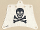 Part No: sailbb26  Name: Cloth Sail 12 x 10 with Skull and Crossbones Pattern (from 6261)