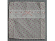 Part No: x1386px2  Name: Scala Cloth Bedspread with Lace, Pink Ribbon Bow, and Dark Pink Bows Pattern