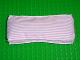 Part No: x1488px2  Name: Belville Cloth Mattress 6 x 14, Pink Stripe Pattern