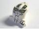 Part No: x1868px3  Name: Minifigure, Head Modified Bionicle Toa Mahri Kongu / Matoro with Lime Eyes Pattern (Matoro)