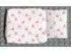 Part No: x24pb02  Name: Scala Cloth Sleeping Bag Baby's, Green Dots and Pink Bows Pattern