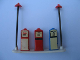 Part No: x887px1  Name: HO Scale, Accessory Petrol Pumps Esso