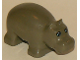 Part No: 2276px1  Name: Duplo Hippo Baby With Eyes Pattern