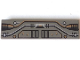 Part No: 2431px2  Name: Tile 1 x 4 with Black, Silver, Copper Circuitry Pattern