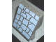 Part No: 30156px1  Name: Panel 4 x 6 x 6 Sloped with Rock Pattern