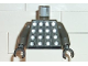 Part No: 973pb0083c01  Name: Torso Soccer Goalie Studded Armor on Front and No. 1 on Back Pattern / Dark Gray Arms / Black Hands