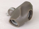 Part No: gal03  Name: Galidor Connector Block 6 x 6 x 3, with 3 Sockets and 1 Light Gray Pin