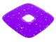 Part No: clikits200  Name: Clikits, Icon Accent Plastic Square 3 5/8 x 3 5/8