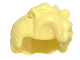 Part No: 26048  Name: Minifigure, Hair Female with High Bangs, Large Wavy Curls and Small Bun