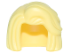 Part No: 28420  Name: Minifigure, Hair Female Short, Bob Cut with Side Part and High Bangs