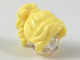 Part No: 28432  Name: Minifigure, Hair Female Long Wavy with Ponytail