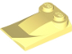 Part No: 47456  Name: Slope, Curved 3 x 2 x 2/3 with Two Studs, Wing End