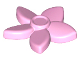 Part No: 18853  Name: Friends Accessories Hair Decoration, Flower with Pointed Petals and Pin