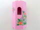 Part No: 30246pb01  Name: Panel 3 x 4 x 6 with Window with Flowers Pattern (Stickers) - Set 7579