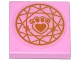 Part No: 3068bpb0986  Name: Tile 2 x 2 with Groove with Gold Paw Print with Heart and Circular Geometric Pattern (Sticker) - Set 41142