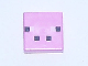 Part No: 3070bpb078  Name: Tile 1 x 1 with Groove with 4 Black and 2 White Squares Pattern (Minecraft Pig Face Pattern)