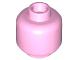 Part No: 3626c  Name: Minifigure, Head (Plain) - Hollow Stud