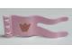 Part No: 51725pb06  Name: Duplo Flag Wavy 2 x 5 with Crown Pattern (Sticker) - Set 4828