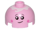 Part No: 553pb035  Name: Brick, Round 2 x 2 Dome Top with Smile, Eyes with Pupils, Pink Cheeks and Icing Pattern
