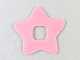 Part No: clikits061  Name: Clikits Icon Accent, Rubber Star 3 x 3