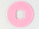 Part No: clikits152  Name: Clikits Icon Accent, Rubber Circle 2 5/8 x 2 5/8
