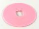 Part No: clikits153  Name: Clikits Icon Accent, Rubber Circle 3 7/8 x 3 7/8