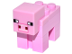Part No: minepig01  Name: Minecraft Pig - Brick Built