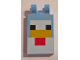 Part No: 30350bpb061  Name: Tile, Modified 2 x 3 with 2 Clips with Minecraft Chicken Pattern