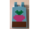 Part No: 30350bpb064  Name: Tile, Modified 2 x 3 with 2 Clips with Minecraft Radish in Ground Pattern