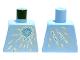 Part No: 973pb1193  Name: Torso Ninjago Ice Energy Pattern (NRG Zane)