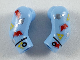 Part No: 981982pb215  Name: Arm, (Matching Left and Right) Pair with Space Themes Logos Pattern
