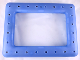 Part No: clikits249c01  Name: Clikits Frame, Rectangle Single with 24 Holes and Lights and Sound