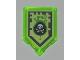 Part No: 22385pb009  Name: Tile, Modified 2 x 3 Pentagonal with Nexo Power Shield Pattern - Venom Bite