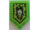 Part No: 22385pb128  Name: Tile, Modified 2 x 3 Pentagonal with Nexo Power Shield Pattern - Gaze of the Gorgon