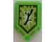 Part No: 22385pb130  Name: Tile, Modified 2 x 3 Pentagonal with Nexo Power Shield Pattern - Boom Stick