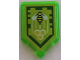 Part No: 22385pb131  Name: Tile, Modified 2 x 3 Pentagonal with Nexo Power Shield Pattern - Honey Bees