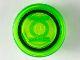 Part No: 98138pb115  Name: Tile, Round 1 x 1 with Black Circle and Bright Green Lantern Logo Pattern