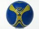 Part No: x45pb05  Name: Ball, Sports Soccer with Adidas Yellow Pattern