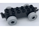Part No: 11248c04  Name: Duplo Car Base 2 x 6 with Light Bluish Gray Wheels with Fake Bolts and Open Hitch End